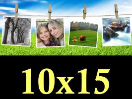 Ruční zpracování fotek 10x15