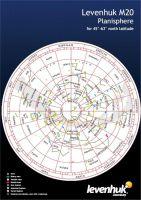 Levenhuk Velká mapa hvězdné oblohy M20