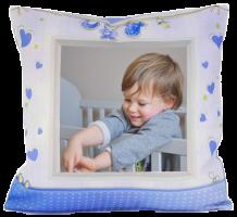 Dětský FotoPolštář - modrý