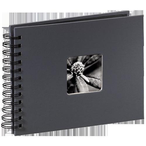 Album klasické FINE ART 24x17 cm, šedé