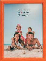 Fotorámeček Colori 13x18, oranžový