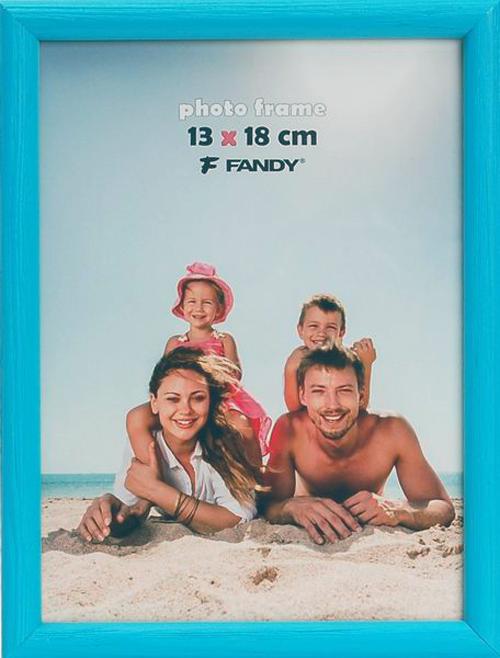 Fotorámeček Colori 10x15, modrý FANDY