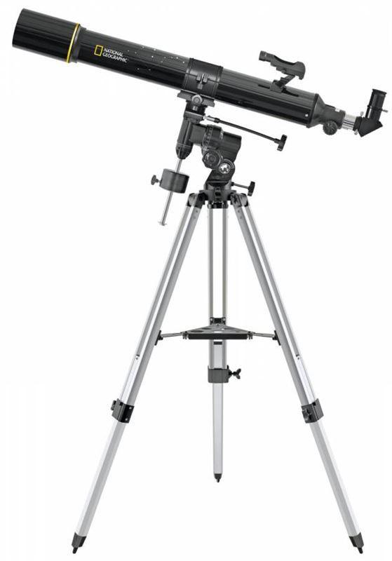 Bresser National Geographic 90/900 EQ Telescope