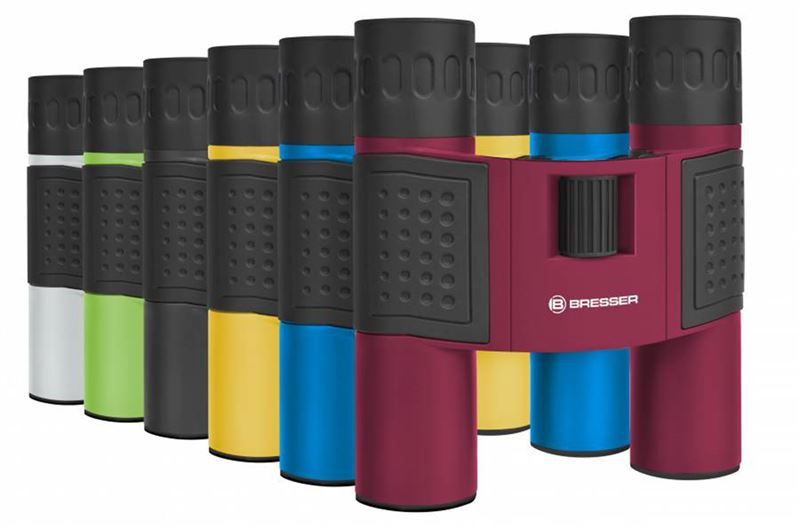 Bresser Topas 10x25 Binoculars modrý