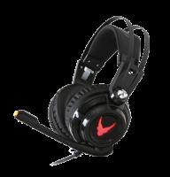Herní sluchátka s mikrofonem a vibracemi
