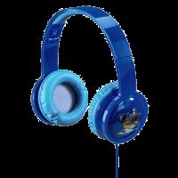 Hama dětská sluchátka Kids LED, uzavřená, modrá