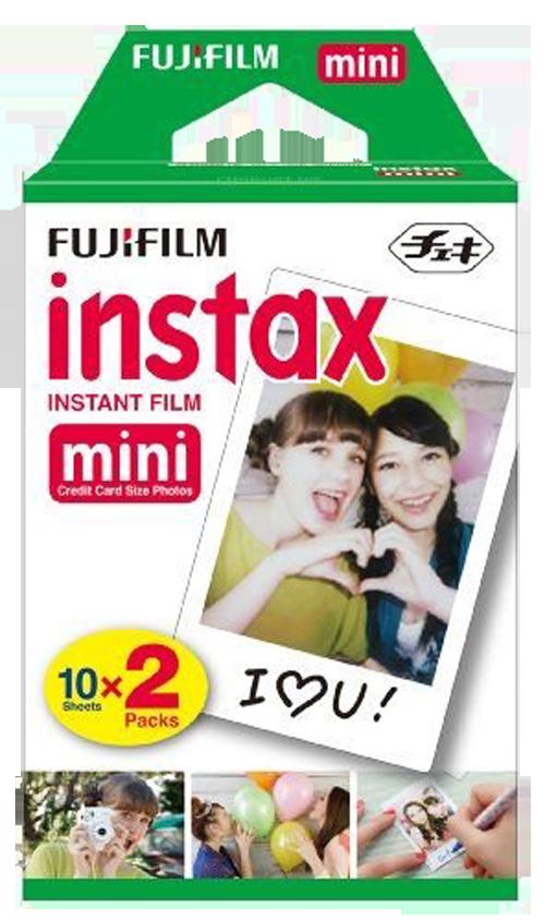 Fujifilm INSTAX mini film, 20 fotografií