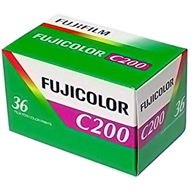 Kinofilm FujiFilm FUJICOLOR 200 135/36