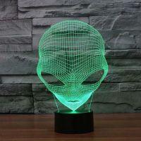 3D lampa Alien