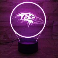 3D lampa Eagle