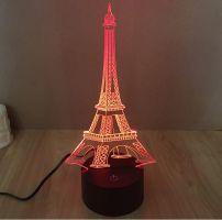 3D lampa Eiffel Tower