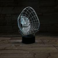 3D lampa Evil