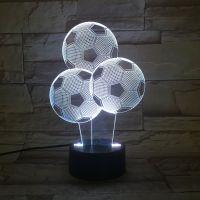 3D lampa Soccer