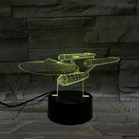 3D lampa Spacecraft