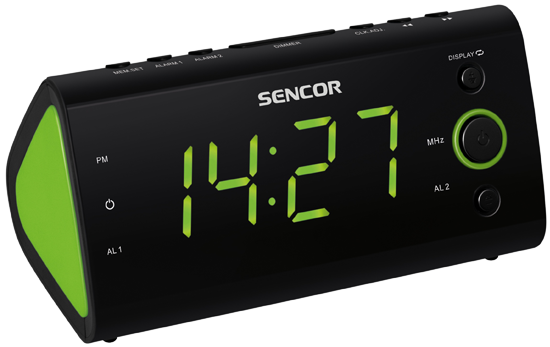 Sencor SRC 170 GN Radiobudík
