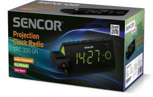 SRC 330 GN Radiobudík s projekcí Sencor