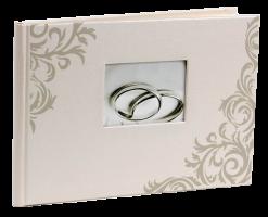 Fotoalbum BB-5724SW Wedding-1 1 stříbrné Aryca