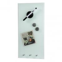 Hama skleněná magnetická tabule, 20x40 cm, bílá