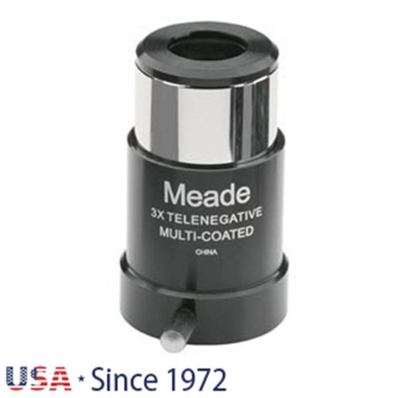 """Meade Series 4000 128 3x Short- Focus Barlow 1.25"""""""