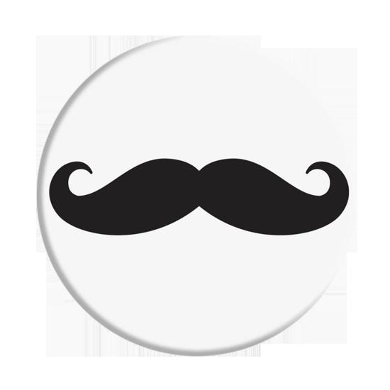 Držák na telefon White Mustache + PopClip
