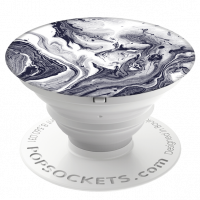 PopSockets Black White Marble