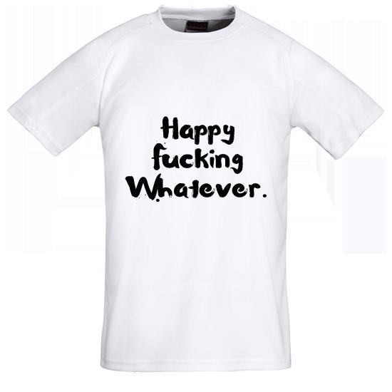 Tričko s potiskem Whatever
