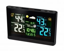 Bresser Weather Station with Colour Display-black