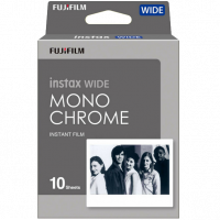 Fujifilm Instax Wide Film Monochrome (B&W) 10ks