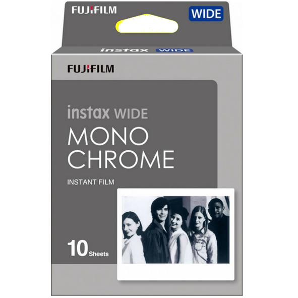Fujifilm Instax Wide Film Monochrome (B&W) 10ks