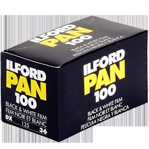 Pan 100 135/36 černobílý negativní film, ILFORD