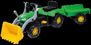 Šlapací traktor s vozíkem BPT 1031