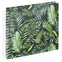 Hama album klasické spirálové GREENERY 28x24 cm, 50 stran