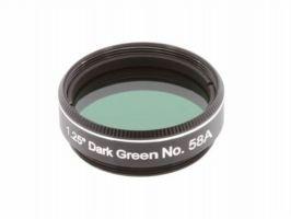 "Explore Scientific Dark Green N58A 1.25"" Filter"