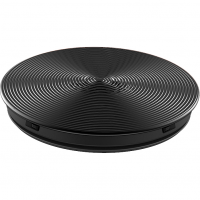 PopSockets Original PopGrip, Twist Black Aluminum, hliníkový