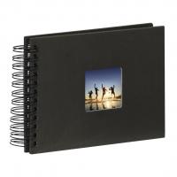 Hama album klasické spirálové FINE ART 24x17 cm, 50 stran, černé