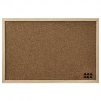 Hama korková nástěnka, 29,5x39,5 cm, oboustranná, dřevěná, přírodní
