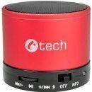 C-TECH repro SPK-04R bluetooth, červená