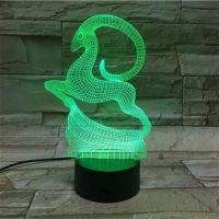3D lampa Deer