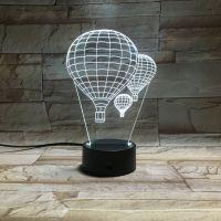 3D lampa Hot-Air Balloon MYWAY