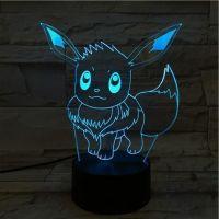 3D lampa Pikachu MYWAY