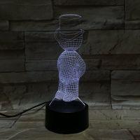 3D lampa Small Boy