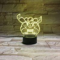 3D lampa Superman