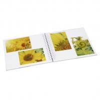 Hama album klasické spirálové GOLDEN WATERCOLOR 28x24 cm, 50 stran