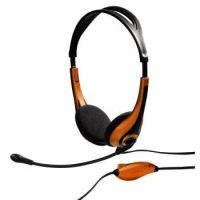 Headset Hama HS-250 černý/zlatý