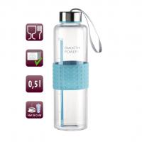 Xavax Smooth Power, skleněná lahev na nápoj, 0,5 l