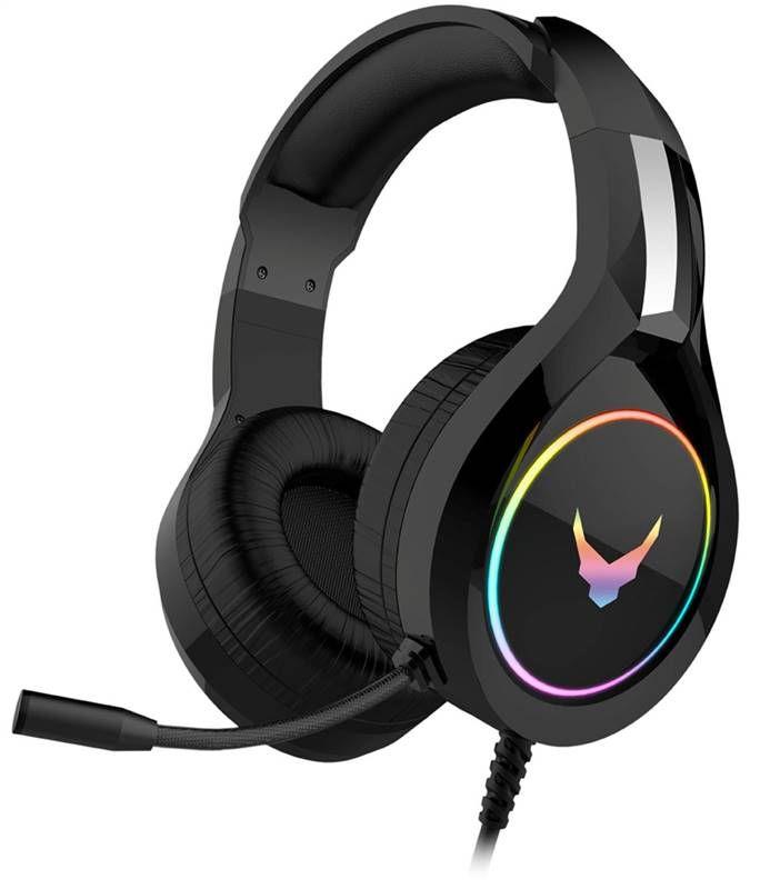 Omega VARR RGB herní sluchátka s mikrofonem černé VH6060 Platinet
