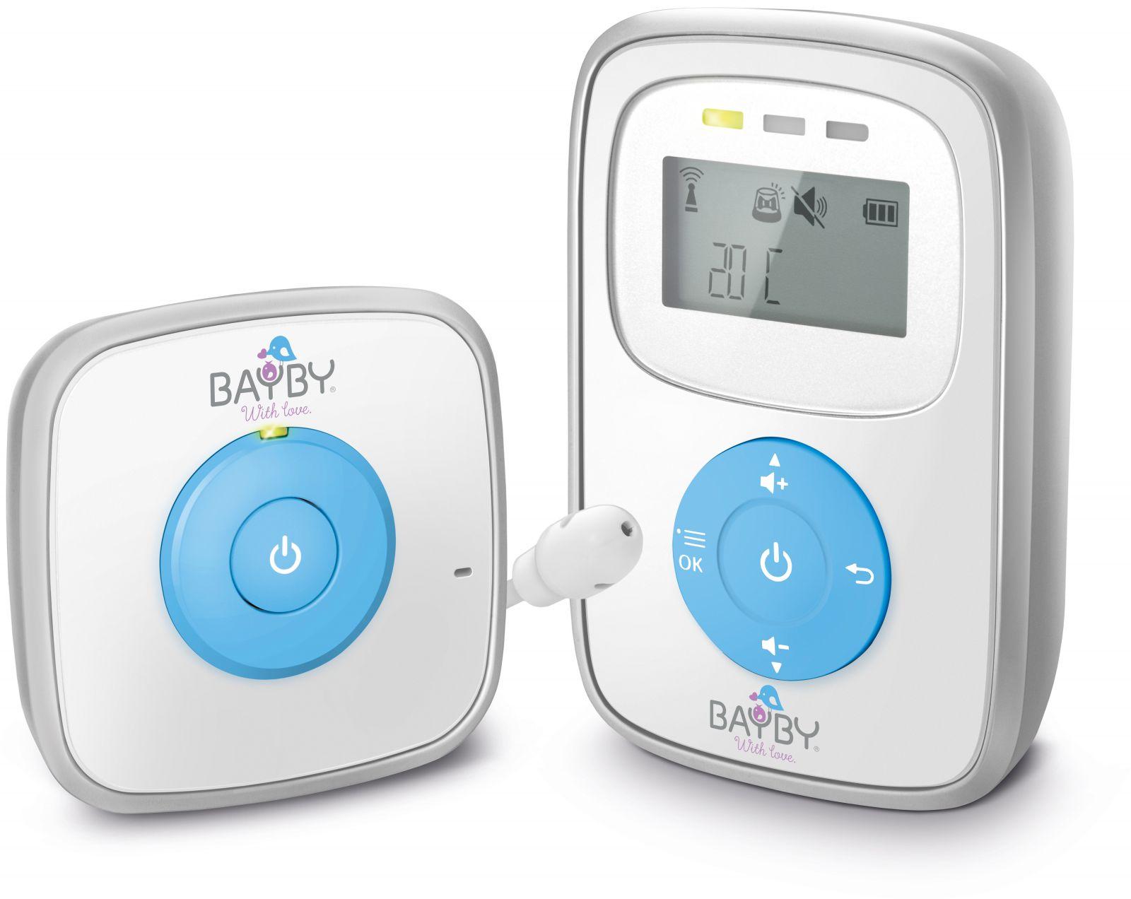 BBM 7010 Digital audio s LCD chůva BAYBY Sencor