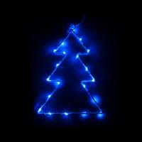 RETLUX RXL 61 20LED TREE BLUE BAT. Vánoční osvětlení
