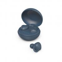 Hama Bluetooth špuntová sluchátka LiberoBuds, bezdrátová, nabíjecí pouzdro, modrá