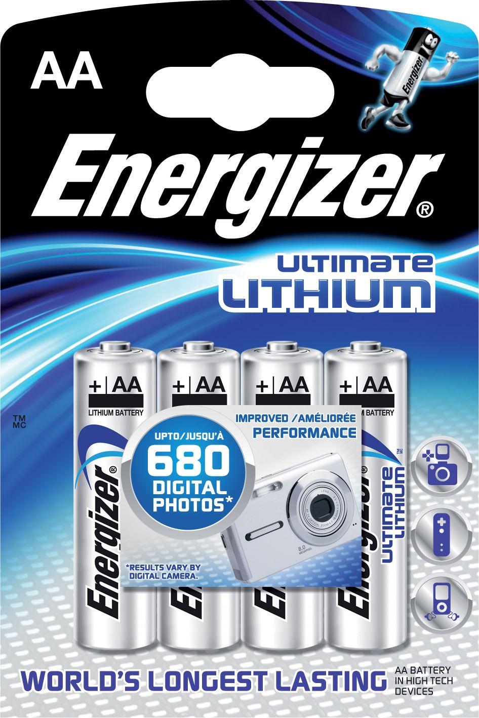 Energizer Ultimate Lithium AA 4ks